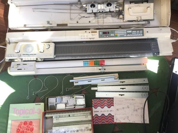 ブラザー 編み機KH-940トピカル3