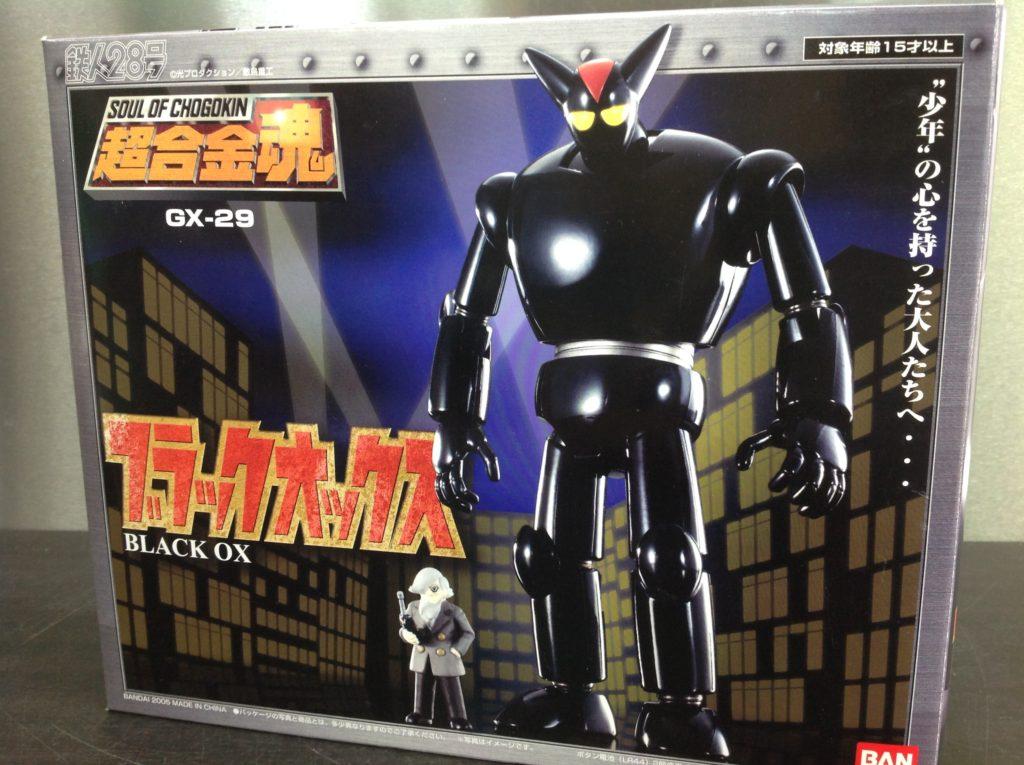 バンダイ 超合金魂 GX-29 ブラックオックス
