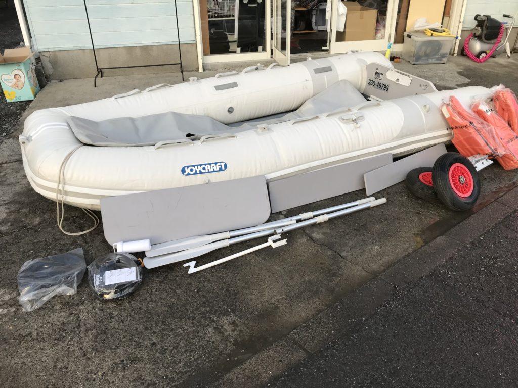 ジョイクラフト 釣り用ゴムボート